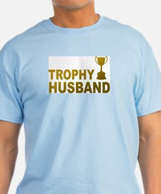 Trophy Husband Ash Grey T-Shirt