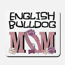 EnglishBulldogMOM Mousepad