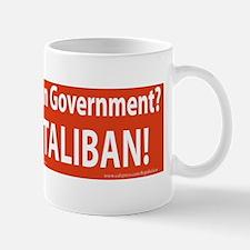 God in Government Taliban Mug