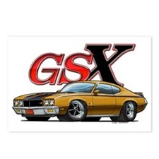Gold_GSX Postcards (Package of 8)