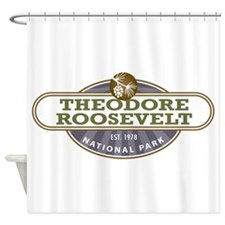 Theodore Roosevelt National Park Shower Curtain