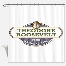 Theodore Roosevelt National Park Shower Curtain