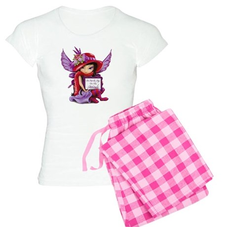 Not the Age but the Attitud Women's Light Pajamas
