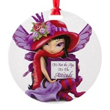 Not the Age but the Attitude Fairy- Ornament