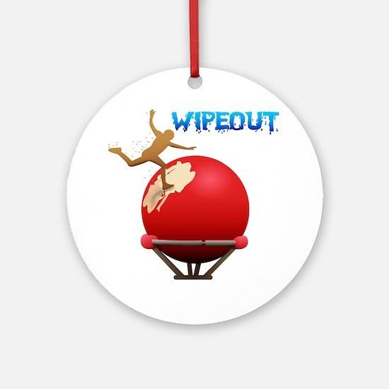 2-BigBall Round Ornament