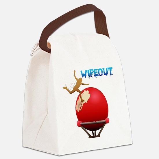 2-BigBall Canvas Lunch Bag