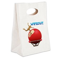 2-BigBall Canvas Lunch Tote
