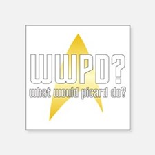 "wwpd2-01 Square Sticker 3"" x 3"""