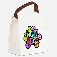 hoopslut60s frontDK Canvas Lunch Bag
