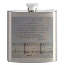 Grace Note Ornament Flask