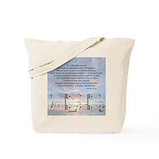 Grace Note Tile1 Tote Bag