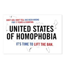 United States of Homophob Postcards (Package of 8)