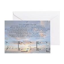 Grace Note l4x10 copy Greeting Card