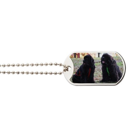 Double Trouble Dog Tags