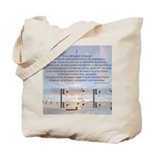 Grace Note Note Tote Bag
