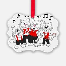 Chorus Cats in color best best Ornament