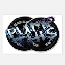 Pump this png Postcards (Package of 8)