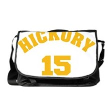 Hickory 15 Gold Messenger Bag