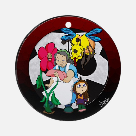 mumsgarden-CALENDAR Round Ornament