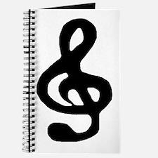 Winter Steel 'Musical Note' Journal
