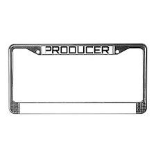 producer License Plate Frame