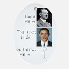 Hitler Oval Ornament