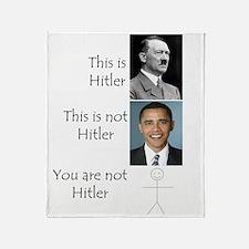Hitler Throw Blanket