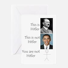 Hitler Greeting Card