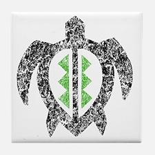 2-hawaiianturtlektexture2 Tile Coaster