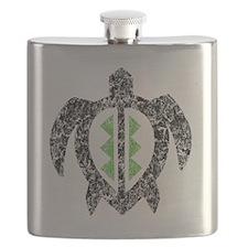 2-hawaiianturtlektexture2 Flask