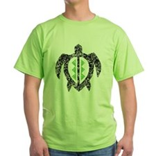 2-hawaiianturtlektexture2 T-Shirt