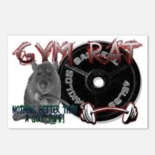 Rat png Postcards (Package of 8)