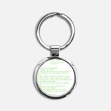 americaversion6.0 Round Keychain