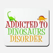 dinosauraddictwh Mousepad