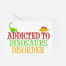 dinosauraddictwh Greeting Card