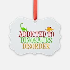 dinosauraddictwh Ornament