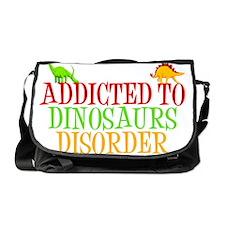 dinosauraddictwh Messenger Bag