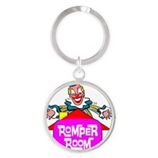2-COMBINED RR Round Keychain