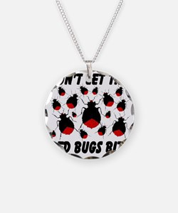 bed_bugs_TAL2010_white Necklace Circle Charm