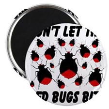 bed_bugs_TAL2010_white Magnet