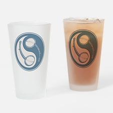 banjo-yang-blu-T Drinking Glass
