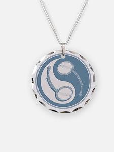 banjo-yang-blu-T Necklace