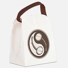 banjo-yang-brn-T Canvas Lunch Bag