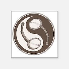 "banjo-yang-brn-T Square Sticker 3"" x 3"""