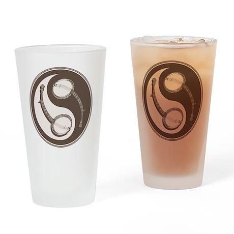 banjo-yang-brn-T Drinking Glass