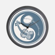 violyin-twangblu-T Wall Clock