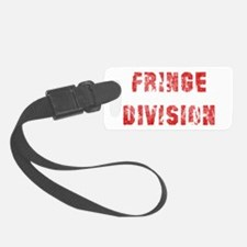 Red Fringe Division Luggage Tag