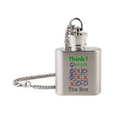 outside Flask Necklace