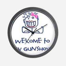 Welcome girl png Wall Clock
