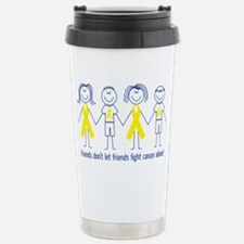 Friends Fighting Cancer Travel Mug